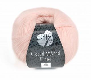 1 extrafeine Merinowolle - Cool Wool Fine - 300m - Lana Grossa - Babyrosa (001)