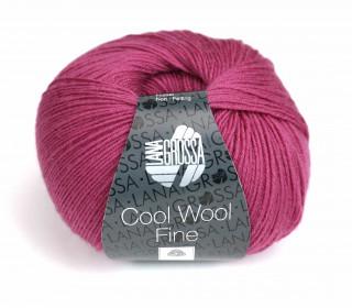 1 extrafeine Merinowolle - Cool Wool Fine - 300m - Lana Grossa - Beere (006)