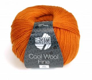 1 extrafeine Merinowolle - Cool Wool Fine - 300m - Lana Grossa - Orange (021)