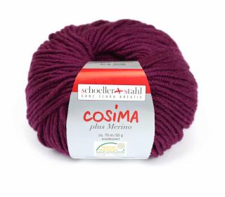 1 Wollgarn - Cosima plus Merino - 70m - Beere (008)