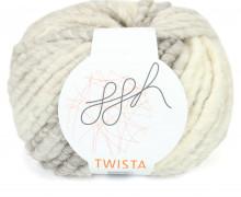 1 Strickgarn - Twista - Effektgarn - 50m - ggh - Natur Meliert (007)