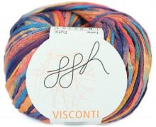 1 Schlauchgarn - Visconti - Effektgarn - Farbverlauf - 90m - ggh - Bunt (008)