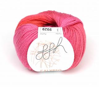 1 Strickgarn - Calypso - Farbverlauf - 185m - ggh - Pink/Koralle (003)