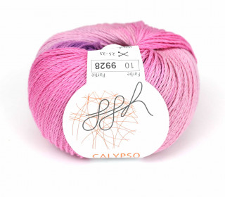 1 Strickgarn - Calypso - Farbverlauf - 185m - ggh - Lila/Pink (010)