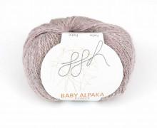 1 extrafeine Wolle - Baby Alpaka Fino - 200m - ggh - Altrosa (014)