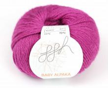 1 extrafeine Wolle - Baby Alpaka - 100m - ggh - Pink (038)