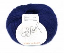 1 extrafeine Wolle - Baby Alpaka - 100m - ggh - Royalblau (018)