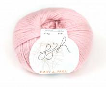 1 extrafeine Wolle - Baby Alpaka - 100m - ggh - Rosa (039)