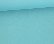 Jersey - Uni - 155cm - Wasserblau