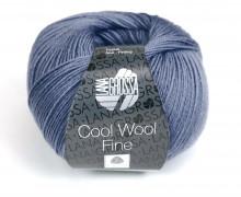 1 extrafeine Merinowolle - Cool Wool Fine - 300m - Lana Grossa - Taubenblau (012)