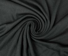 Elastischer Ramie - leichter Strickstoff - Uni - Schwarz