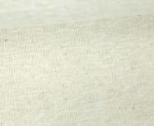 Fashionstoff - elastischer Strickstoff - Uni - Warmweiß Meliert