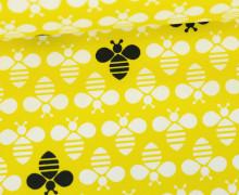 Stoff - Bienen - Bees - Bee Youtiful - Zitronengelb