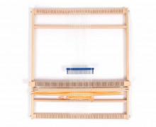 1 Webrahmen - 50cm - Wolle - Natur