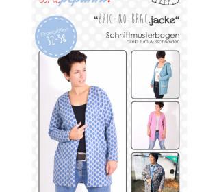 Schnittmuster - Bric No Brac Jacke - 32-58 - Damen - lenipepunkt