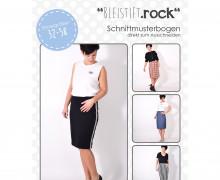 Schnittmuster - Bleistiftrock - 32-58 - Damen- lenipepunkt