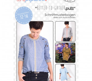 Schnittmuster - Better to Gather Pulli - 32-58 - Damen - lenipepunkt