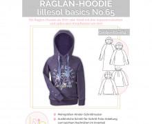 Schnittmuster - Raglan-Hoodie - Basics - Kinder - No.65 - 80-164 -  lillesol&pelle