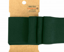 Bündchen - Boord Cuffs - Rippen - Uni - Tannengrün