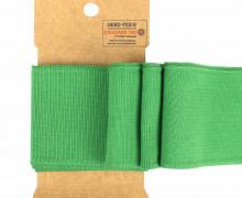 Bündchen - Boord Cuffs - Rippen - Uni - Grün