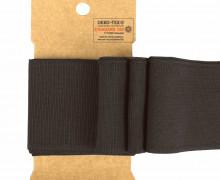 Bündchen - Boord Cuffs - Rippen - Uni - Dunkelbraun