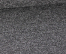 Jersey - Uni - Hochwertig - 150cm - Grau Meliert