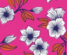 Canvas - Blumen - Best Friends Forever - High Five - Pink - Hamburger Liebe
