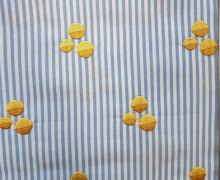Blusenstoff - Punkte - Stitches - Streifen - High Five - Blau - Hamburger Liebe