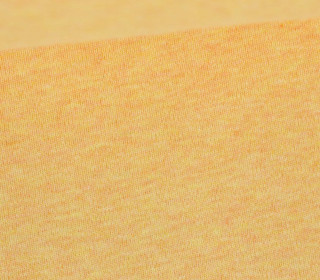 Organic Cotton Interlock Baumwolljersey - Uni - 145cm - Orange/Gelb Meliert