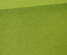 Möbel und Taschenstoff - Samt Velours Uni - Polsterstoff - Maigrün