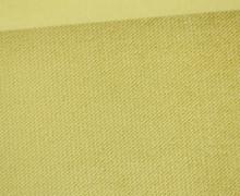 Möbel / Deko Velours mit leichter Cordoptik - Uni - Mattgelb