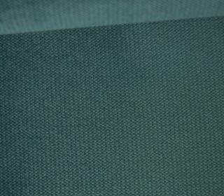 Möbel / Deko Velours mit leichter Cordoptik - Uni - Meergrün Dunkel