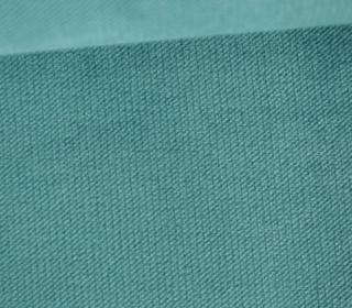 Möbel / Deko Velours mit leichter Cordoptik - Uni - Meergrün