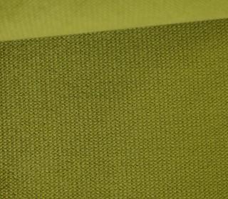 Möbel und Taschenstoff - Samt Velours Uni - Polsterstoff - Schilfgrün