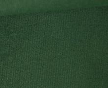 Möbel und Taschenstoff - Samt Velours Uni - Polsterstoff - Tannengrün