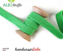 Hoodiekordel - Flachkordel - Cord me - Uni - 20mm - Wanderlust - Hamburger Liebe - Hellgrün