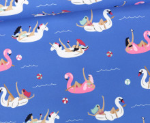 Badestoff - Swimwear - Badetiere - Blau