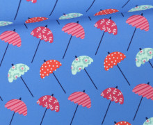 Badestoff - Swimwear - Sonnenschirme - Blau