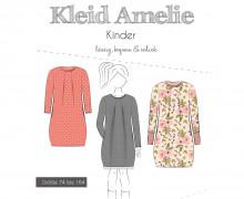 Papier-Schnittmuster - Kleid - Amelie - Kinder - 74-164 - Fadenkäfer