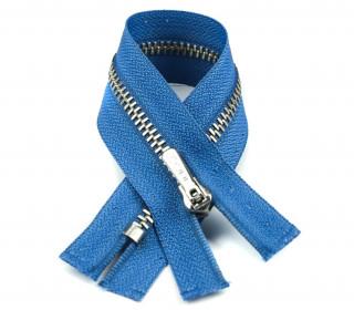 1 Reißverschluss - 18cm - Hochwertig - Metall - Prym - Taubenblau (235)