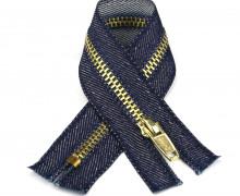 1 Reißverschluss - 16cm - Hochwertig - Metall - Prym - Jeans dunkel (230)