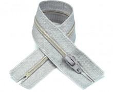 1 Polyesterreißverschluss - 15cm - Nicht Teilbar - Hochwertig - Prym - Hellgrau (016)