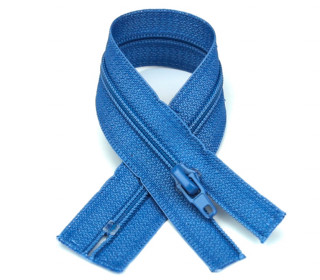 1 Polyesterreißverschluss - 20cm - Nicht Teilbar - Hochwertig - Prym - Taubenblau (235)