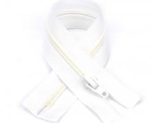 1 Polyesterreißverschluss - 20cm - Nicht Teilbar - Hochwertig - Prym - Weiß (009)