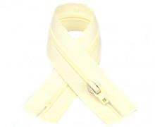 1 Polyesterreißverschluss - 22cm - Nicht Teilbar - Hochwertig - Prym - Vanille (089)