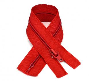 1 Polyesterreißverschluss - 22cm - Nicht Teilbar - Hochwertig - Prym - Rot (722)