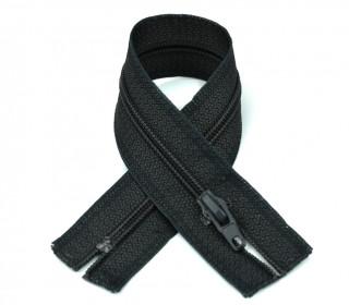 1 Polyesterreißverschluss - 22cm - Nicht Teilbar - Hochwertig - Prym - Dunkelgrau (001)