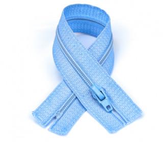 1 Polyesterreißverschluss - 18cm - Nicht Teilbar - Hochwertig - Prym - Hellblau (259)
