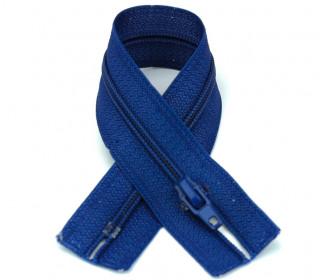 1 Polyesterreißverschluss - 18cm - Nicht Teilbar - Hochwertig - Prym - Blau (223)
