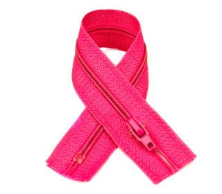 1 Polyesterreißverschluss - 18cm - Nicht Teilbar - Hochwertig - Prym - Pink (786)